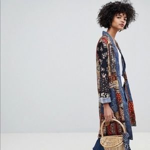 Free People Long Blazer